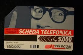scheda telefonica