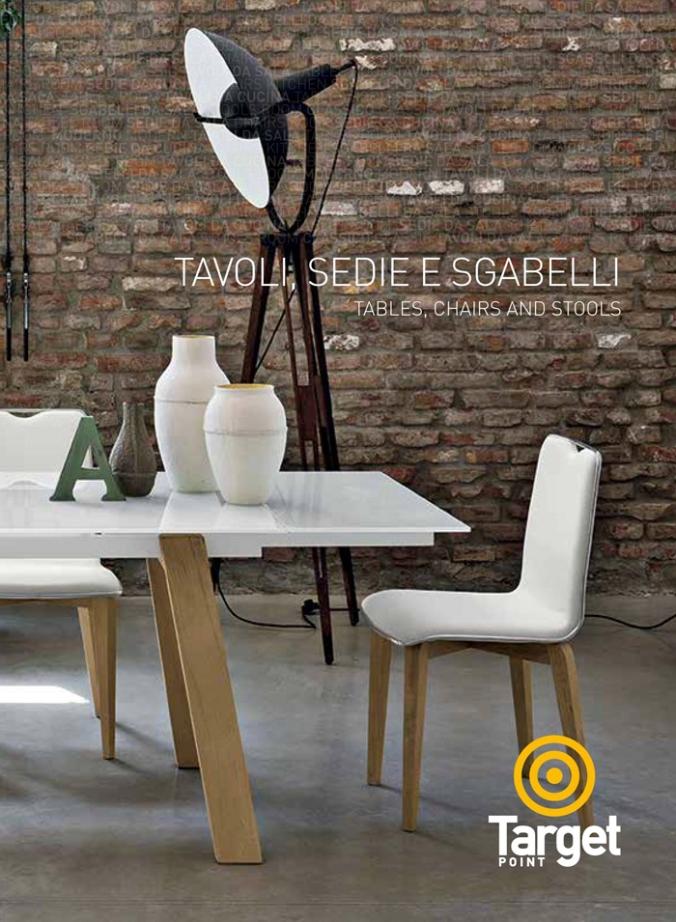 catalogo tavoli e sedia